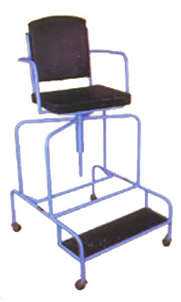 high chair for whirlpool bath